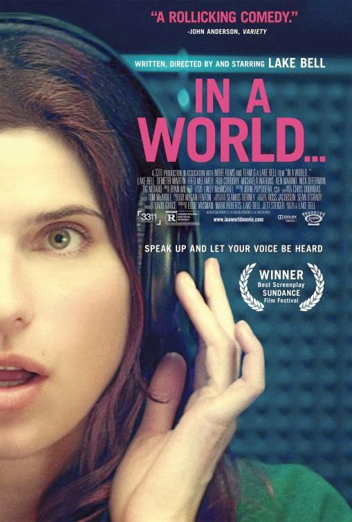 Poster Of English Movie In a World... (2013) Free Download Full New Hollywood Movie Watch Online At Alldownloads4u.Com