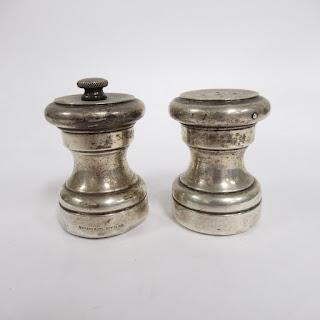 Tiffany & Co. Sterling Salt Shaker & Pepper Mill