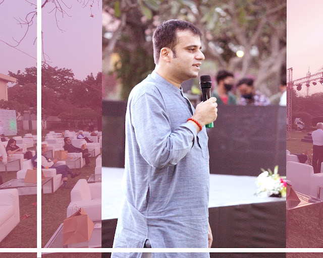 """Murtaza Ali Khan during his session at """"Notti Stellate – Italian Cinema Under The Sky"""" organized by Embassy of Italy"""