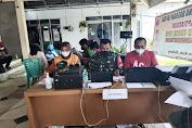 Kegiatan Serbu Percepatan Vaksin Tahap 1 Kodim 0605 Subang di Desa Blanakan