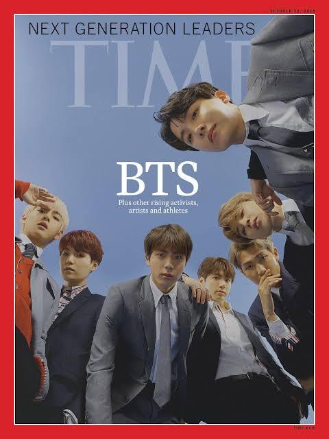 BTS Majalah Times