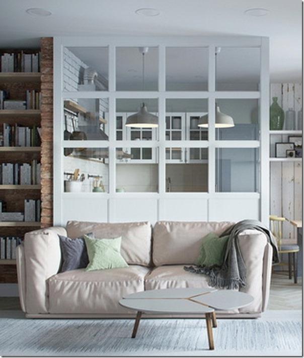 Piccoli spazi cucina divisa da vetrata case e interni for Progettare un salone