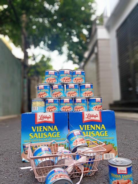 Xúc xích đóng hộp Libby's Vienna Sausage