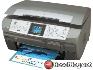 Epson PM-A900 Waste Ink Pads Counter Reset Key