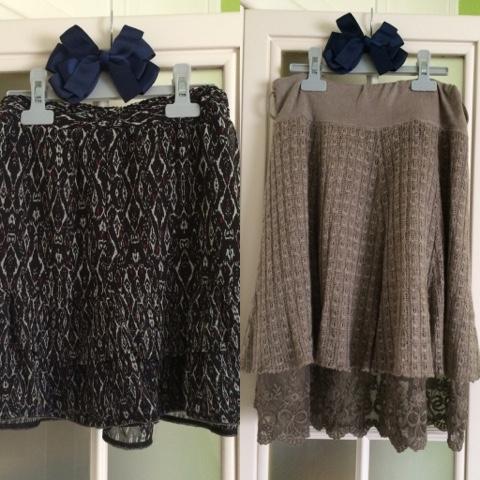 falda para vestir y falda para salir,fondo de armario prendas basicas