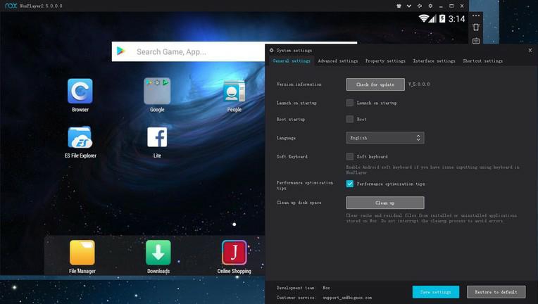Nox App Player 6.6.0.0 (Full) Android emulator for Windows