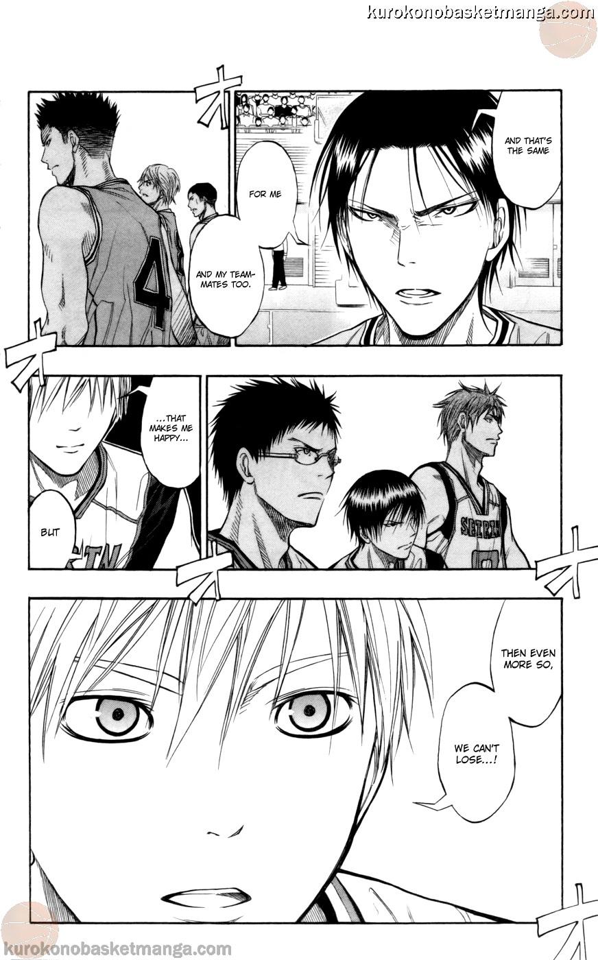 Kuroko no Basket Manga Chapter 86 - Image 02