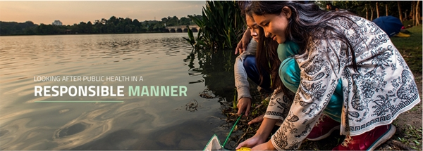 sumber air bersih untuk kesejahteraan masyarakat