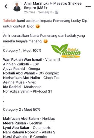 Alhamdulillah, Menang Contest Blog by Maestro
