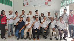 HUT ke-2 Kado Dahsat, Sejumlah ASN, Wartawan dan Warga Ikut Donorkan Darah