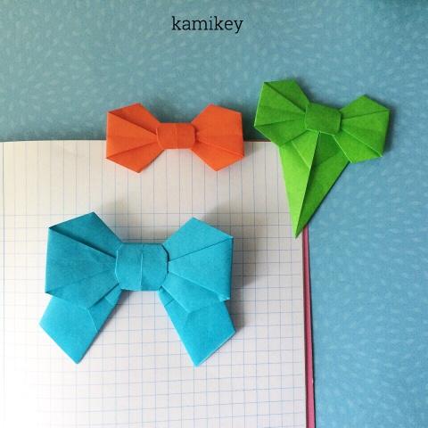 クリスマス 折り紙:折り紙 リボン 折り方-origamilabo.blogspot.com