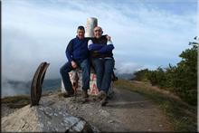 Marinda mendiaren gailurra 984 m. --  2015eko abenduaren 26an