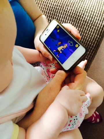 Viewing the KidloLand app