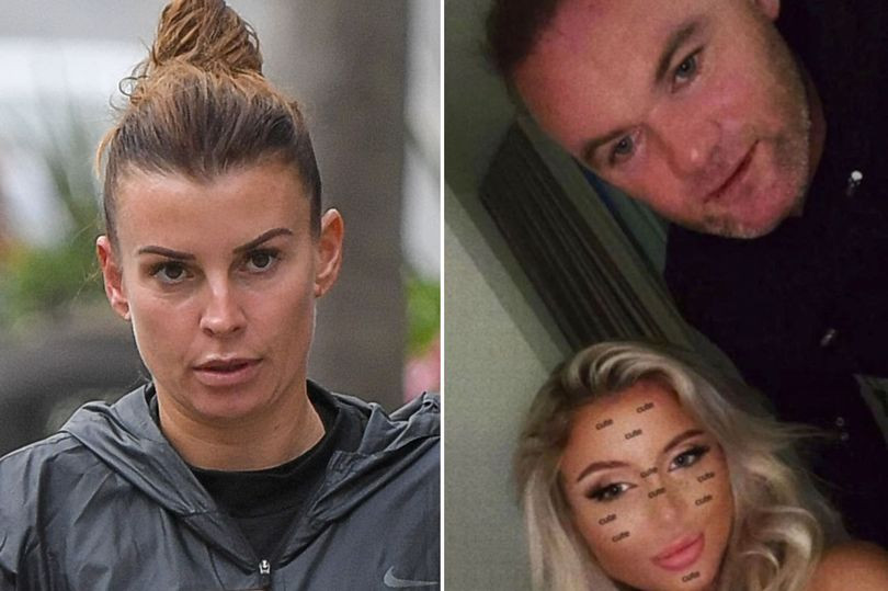 Footballer Wayne Rooney's wife, Coleen spotted at the beach 24 hours after photos of her husband in hotel room with women went viral (photos)