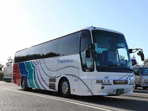 名鉄バス「名古屋~新潟線」 2607 米山SAにて
