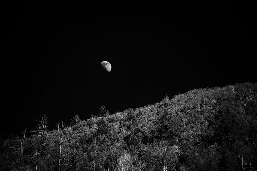 The Summer Moonrise. Photographer Alex Berger