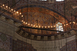 Photo: Day 115 -  Gallery in  The Yeni Mosque