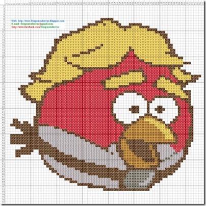 Angry Birds esquemas gratis Punto de cruz (1)