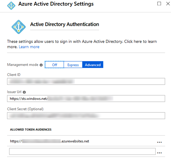 sadomovalex's blog: Call Azure AD secured Azure functions from C#