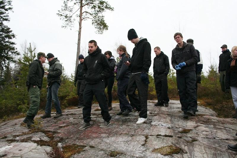 Kallioperägeologian kenttäkurssi, kevät 2012 - Kallioper%25C3%25A4kenttis%2B056.JPG