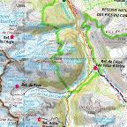 1ere étape de ce tour de la Meije : la plus longue avec près de 1600 m de déniv. et 15 km de longueur. Par contre, il n'y a aucune difficulté technique.