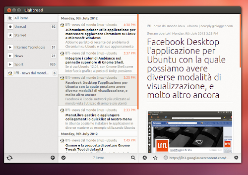 LightRead in Ubuntu 12.04