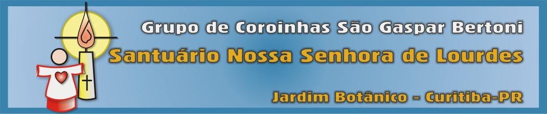 Coroinhas do Santuário Nossa Senhora de Lourdes, Jd. Botânico - Curitiba