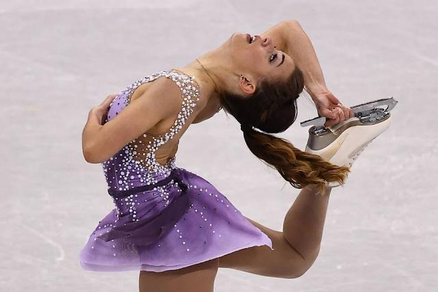 Patinadora brasileira Isadora Williams nos Jogos Olímpicos de Inverno 2018