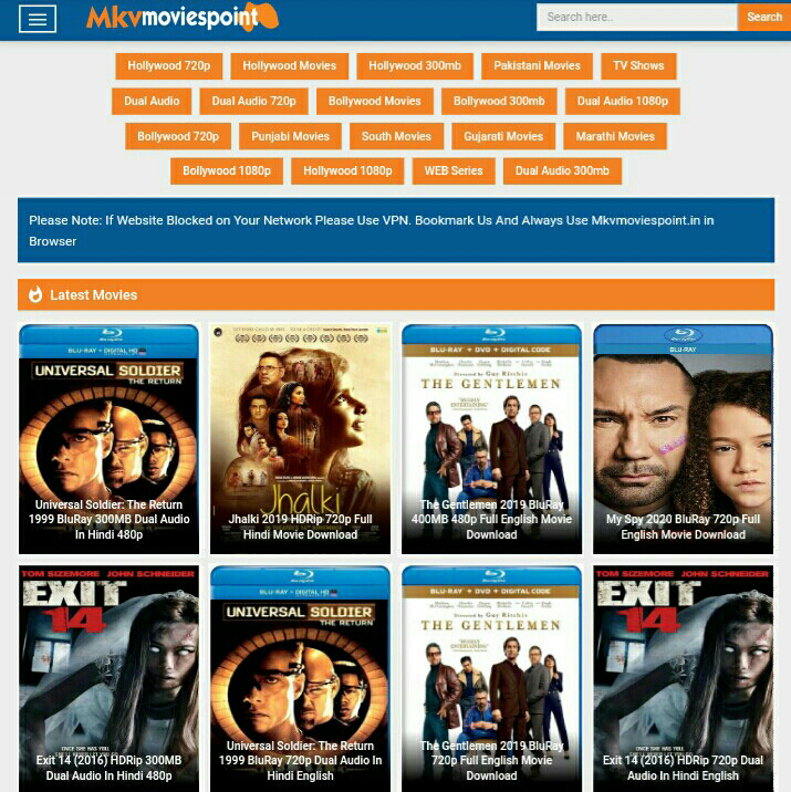 300mb Mkv movies download