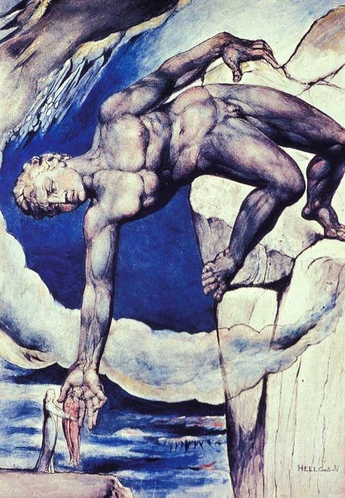 Antaeus By William Blake, William Blake