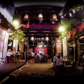 Cheng Ho Tea House by Papin Michael - Buildings & Architecture Public & Historical ( cheng ho, old, tea house, melaka, tea, chinese )