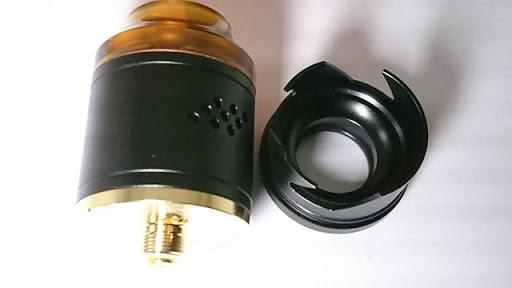 DSC 2103 thumb%25255B2%25255D - 【RDA】「Geekvape Peerless RDA」レビュー。24mm爆煙大型コイルビルド可能な高級感あふれるドリッパー!!ボトムフィード対応【ギークベープ/ビルド/電子タバコ】