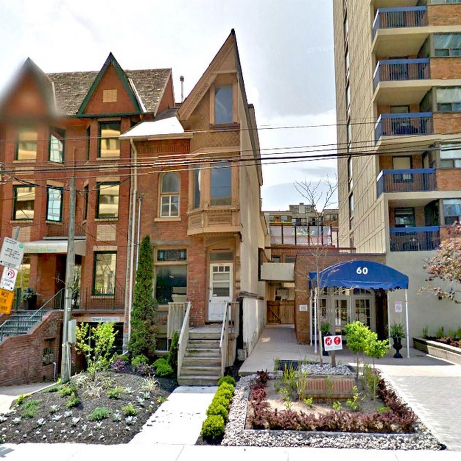 The Half House Of St. Patrick Street, Toronto