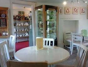clean bright tearoom tableaux