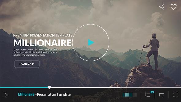 Millionaire - Premium Powerpoint Template