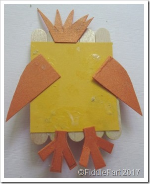Lolly Stick Easter Chick 1