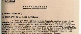 L'enregistrement en Tamazight de la Proclamation du 1er Novembre 1954 avant le 20 août