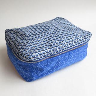 Hermès MINT Silk Small Travel Cube