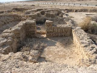 בית חגלה המקראית דרום-מזרח ליריחו