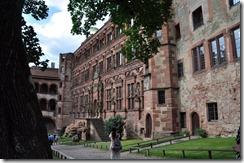 Heidelberg schloss aile de la salle des glaces