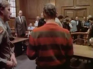 Krueger on trail in the pilot episode.