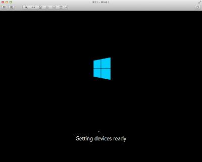 Windows 8.1起動中