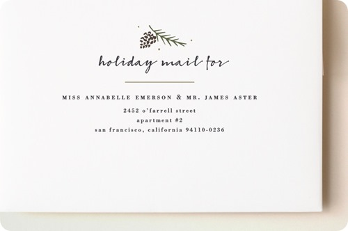 minted simple frame address