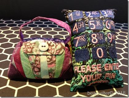 pincushion purse and enter your pin