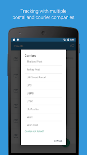 Parcels – Track Packages from Aliexpress, eBay (MOD, Premium) v2.0.18 5