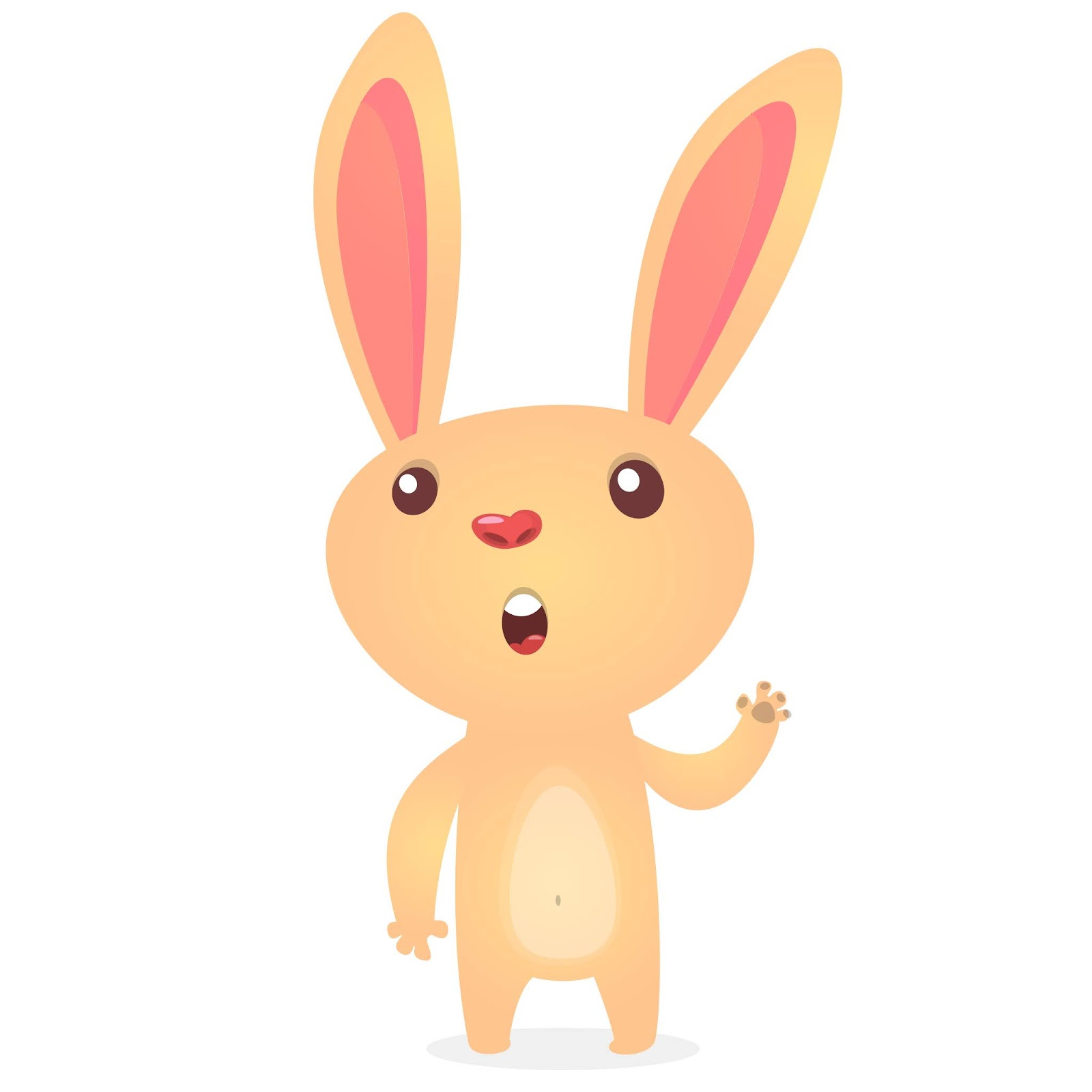 Cartoon Bunny Rabbit Illustration Free Download Vector CDR, AI, EPS and PNG Formats