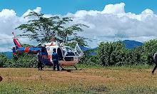 Pastikan Aktivitas PETI di Sekadau, Polda Kalbar Terjunkan Tim Pemantau Dengan Helikopter