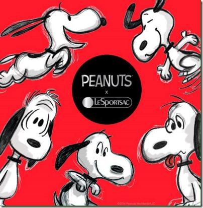 Peanuts X LeSPORTSAC 03