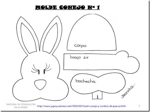 conejo y ovejas moldes (4)