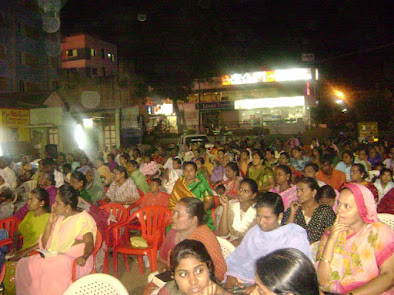 Open air meeting in Madurai
